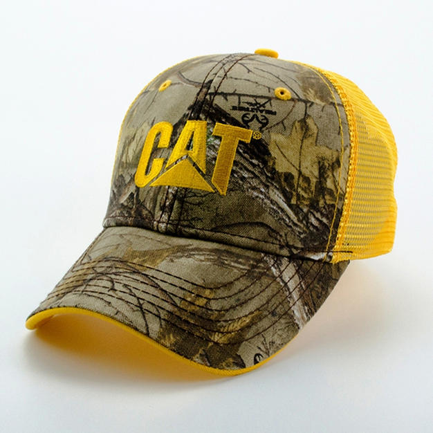 Mesh Back Hat Yellow