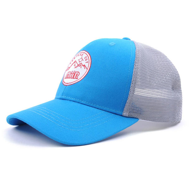 Mesh Back Hat Light Blue