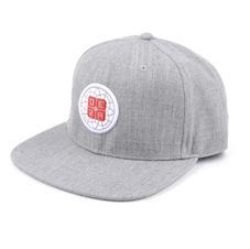 6-Panel Trucker Hat Gray