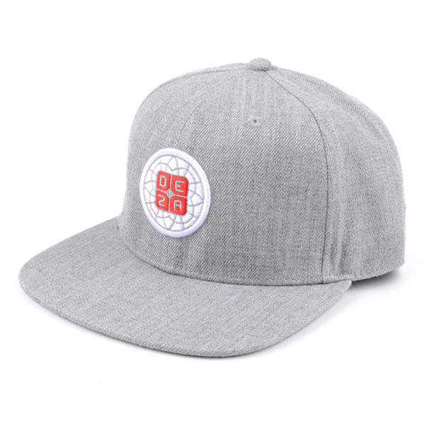 6-Panel Trucker Hat Gray