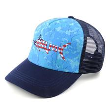 Mesh Back Hat Blue