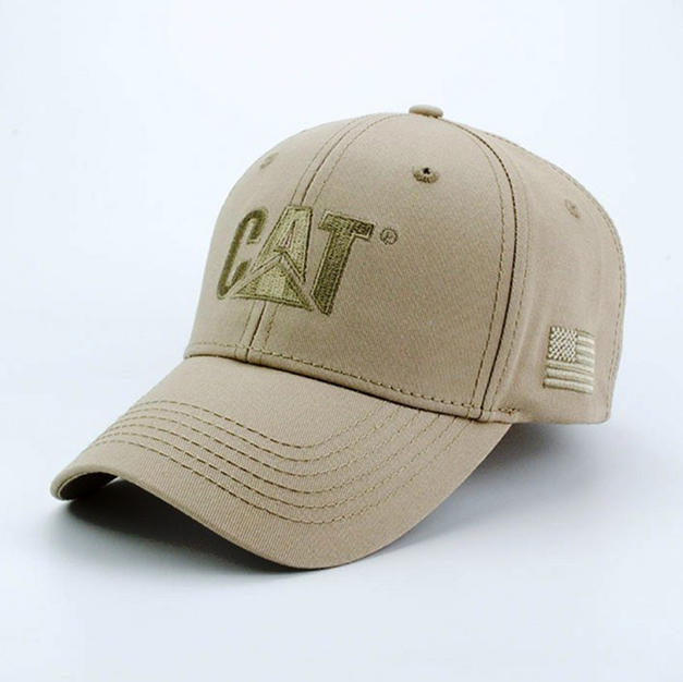 6-Panel Cotton Hat Beige