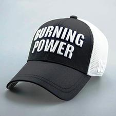 Cotton Mesh Back Hat Black