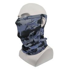 Face Masks Camo Gray and Blue