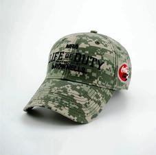 6-Panel Cotton Digital Camo Hat