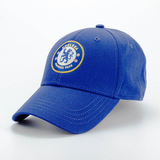 6-Panel Cotton Hat Blue