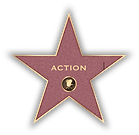 Action genre movie star experience