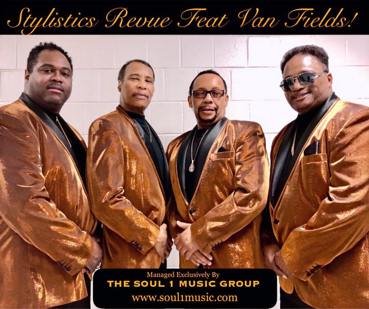 STYLISTICS LIVE Feat Van Fields!