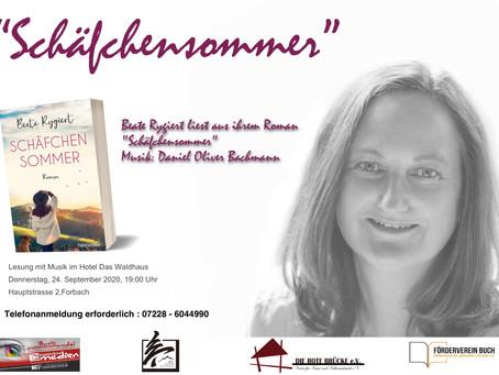Lesung mit Beate Rygiert und Musik von Daniel Oliver Bachmann