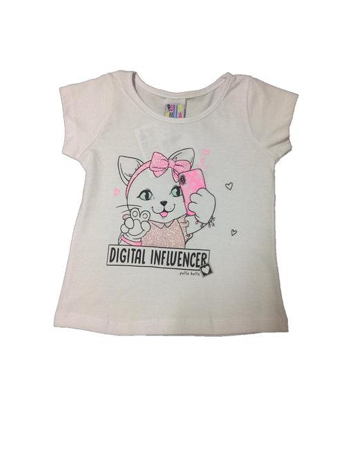 blusa feminina manga curta