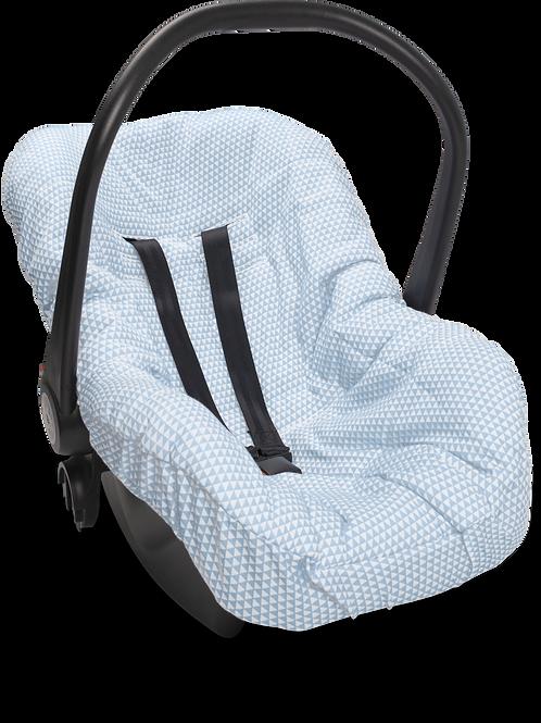 Capa para bebê conforto lembrança de infância