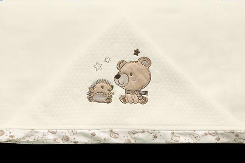Toalha de banho com capuz sonho encantado