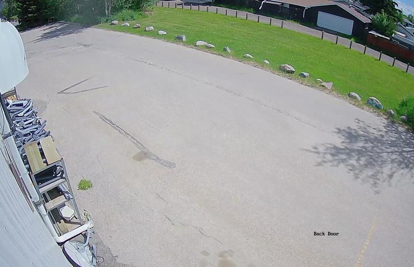 Outdoor Camera Back