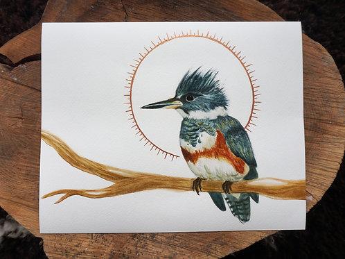 Kingfisher Giclée Print