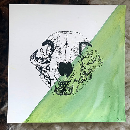 Bobcat Skull Misprint 1