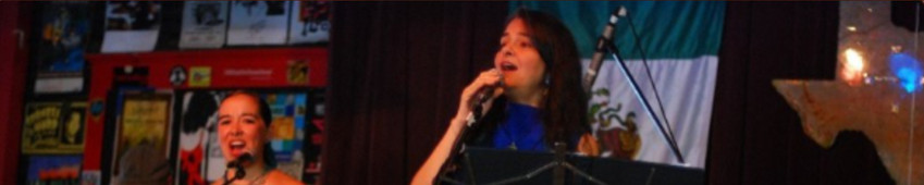 Singing again...