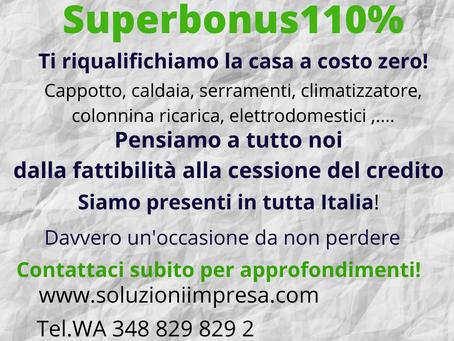 Documenti indispensabili per accedere al Superbonus110