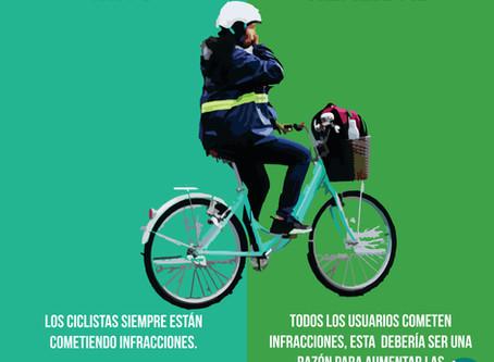 Mitos del uso de la bicicleta