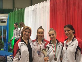 Campionato Nazionale di Categoria, Martina Santandrea ancora sul podio