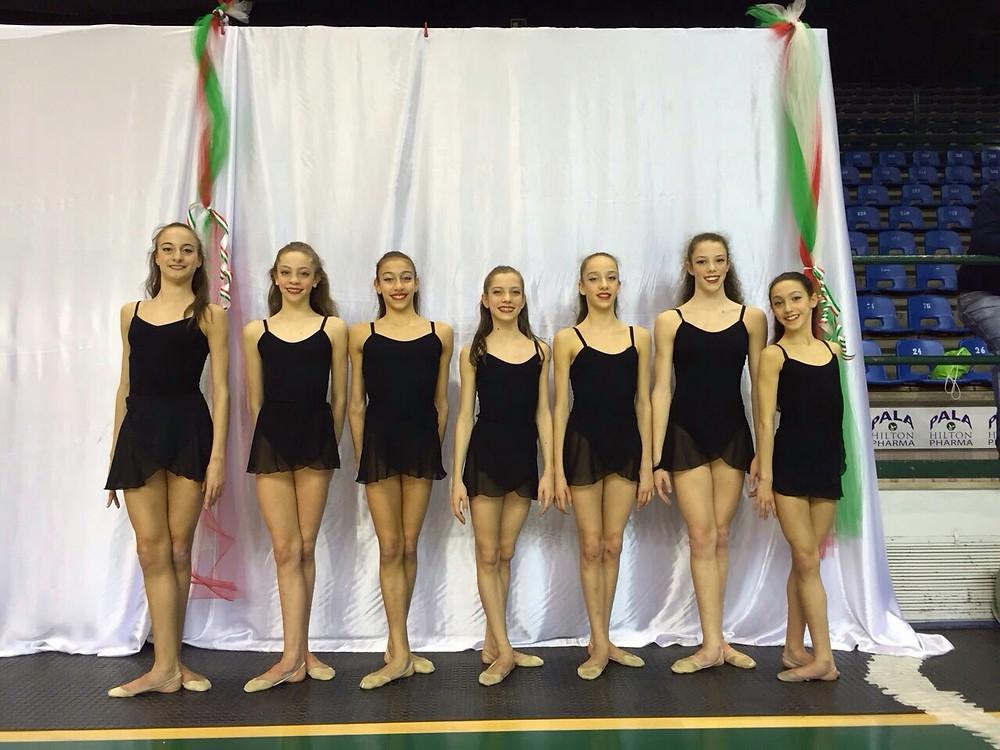 rappresentativa regionale emilia romagna ginnastica ritmica