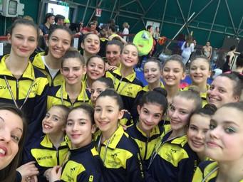 Campionato Serie D, prima prova regionale: brillante prestazione delle ginnaste estensi