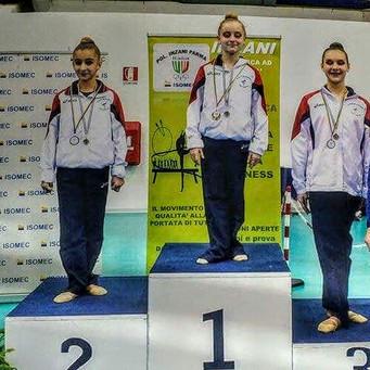 Grande gara delle ginnaste estensi nella prima prova del Campionato Fgi Silver Lc e Ld Zona Emilia
