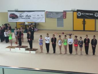 Ottimi risultati per le ginnaste estensi al Campionato Regionale C.S.E.N.