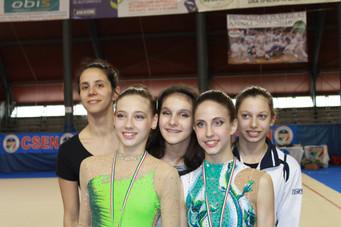 Campionati Nazionali C.S.E.N: dalle ginnaste estensi arrivano importanti conferme