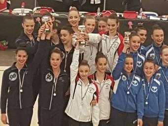 Campionato Regionale d'Insieme, medaglia d'oro per l'Estense Putinati con la squadra Ope