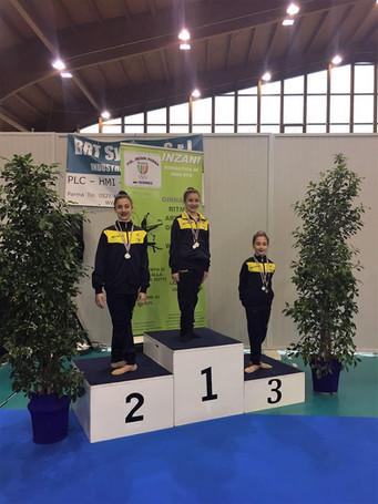 Campionato Regionale Silver Fgi: brillano le ginnaste dell'Estense Putinati