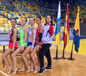 Le ginnaste dell'Estense Putinati in trasferta al Blume Gran Canaria
