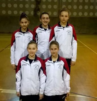 Ottimi risultati per le ginnaste della Putinati nella prova unica del Campionato di Serie D