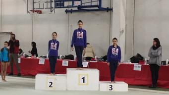Campionato Individuale Silver, pioggia di medaglie per le giovani ginnaste dell'Estense Putinati