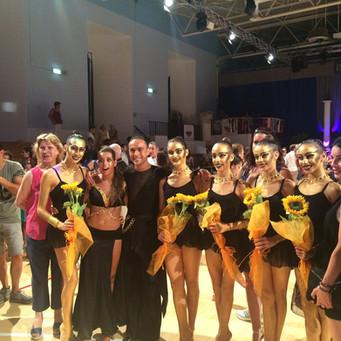Le ginnaste dell'Estense Putinati ospiti all'International Training Camp di Caorle