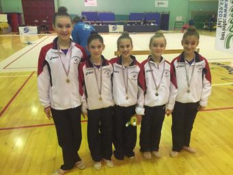 Concluso il Campionato Regionale di serie C: buona prova per le giovani ginnaste dell'Estense Pu