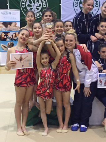 Medaglia d'argento in Coppa Italia per le giovani ginnaste dell'Estense Putinati