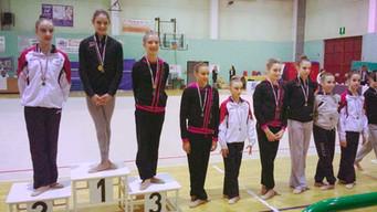 Le ginnaste dell'Estense Putinati protagoniste nella prima prova del Campionato Regionale di Cat