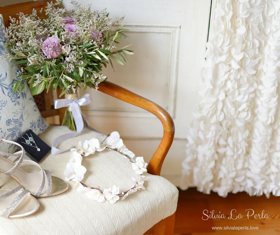 Floral Wedding Dress Silvia La Perla