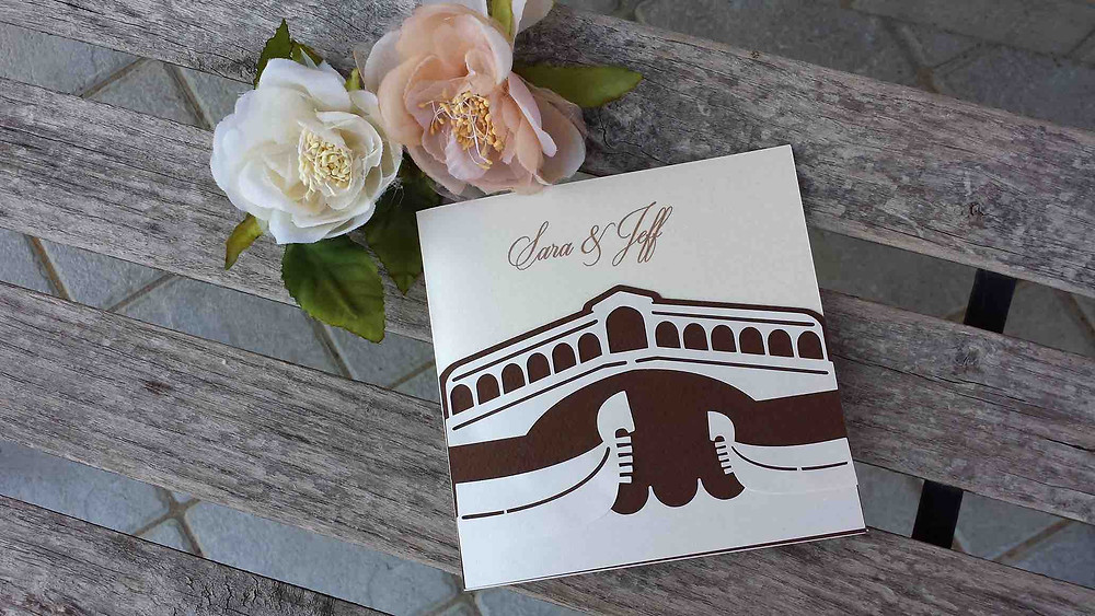 Destination Wedding Invitation | Wedding In Venice | Our Italian Fairyale
