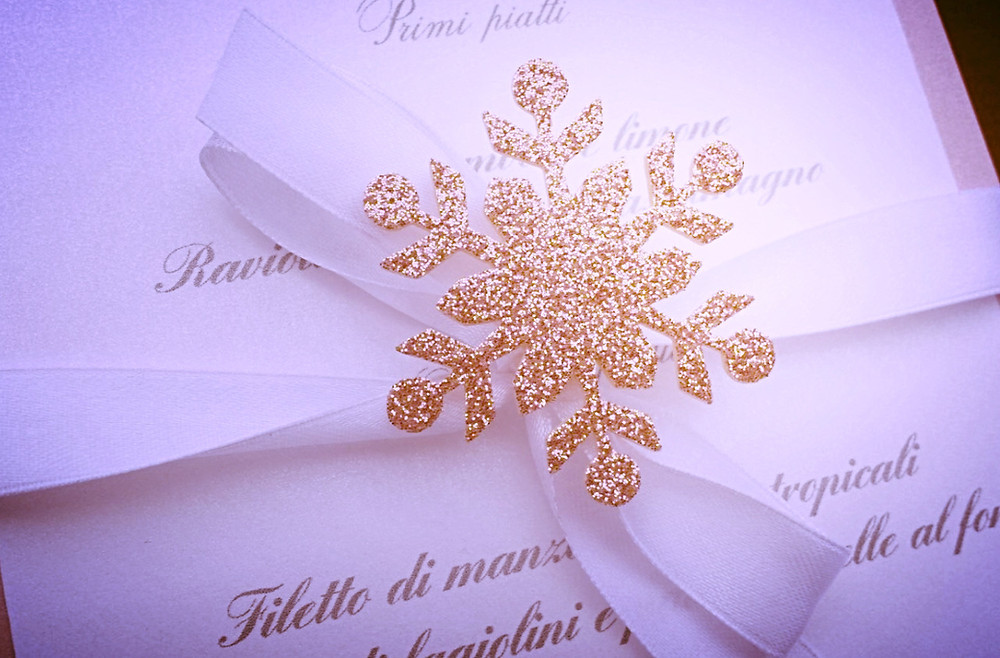 Winter Wedding Invitation - Get Married In Italy - Our Italian Fairytale