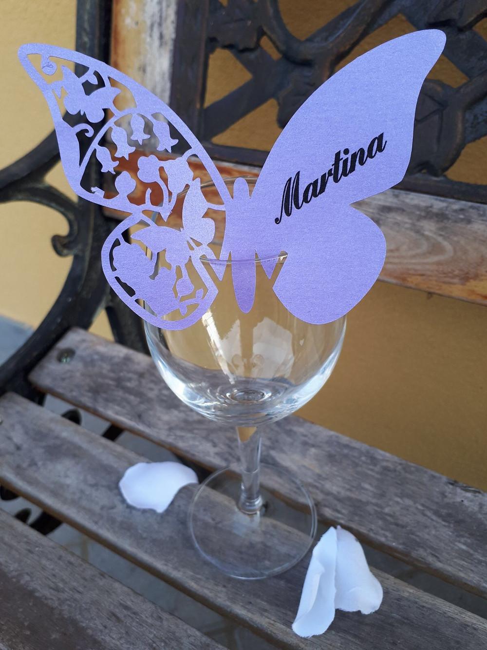 Place Card | Our Italian Fairytale | Cinzia Wedding and Event Designer