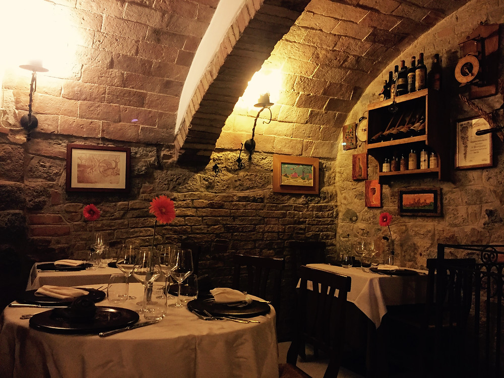 Intimate Restaurant In Tuscany - Our Italian Fairytale