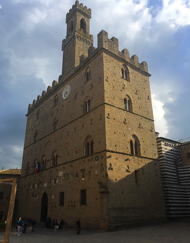 Civil Wedding Ceremony In Volterra