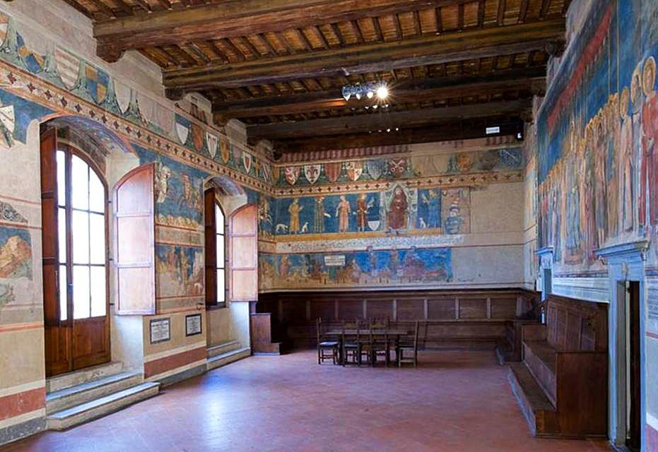 San Gimignano Town Hall Wedding