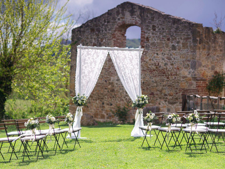 Rustic-Charm Wedding In Tuscany