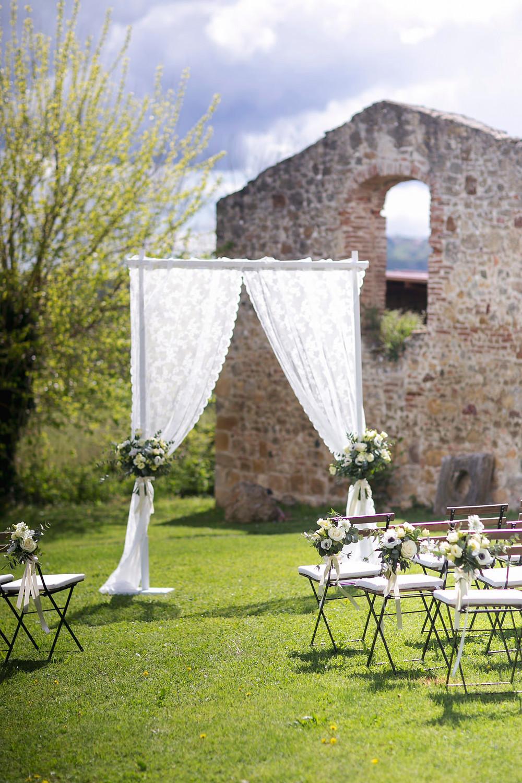 Wedding Ceremony In Tuscany | Our Italian Fairytale