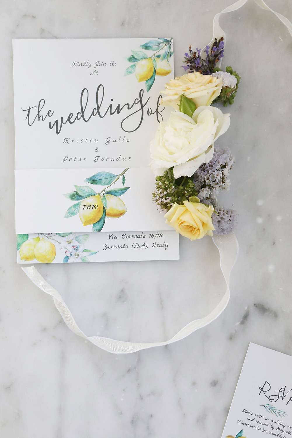 Lemon Invitations | Our Italian Fairytale | Best Amalfi Coast Destination Wedding Planner