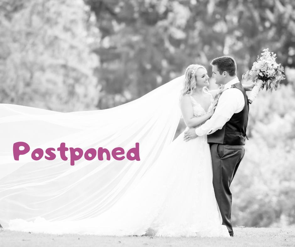 Coronavirus Wedding Postponment