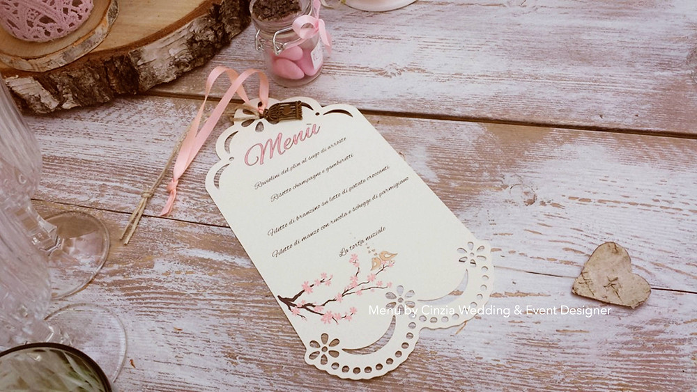 Italian Wedding Menu | Our Italian Fairytale | Destination Wedding Planner Italy