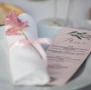 Tuscan Style Wedding Menu